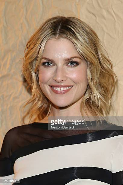 Actress Ali Larter attends the Donna Karan fashion show during MercedesBenz Fashion Week Spring 2014 on September 9 2013 in New York City