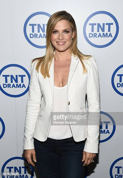 Actress Ali Larter attends the 'Legends' portion of the 2014 TCA Turner Broadcasting Summer Press Tour Presentation at The Beverly Hilton on July 10...