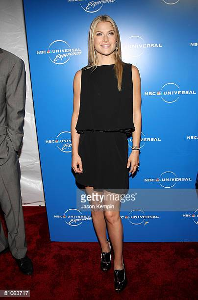 Actress Ali Larter attends the NBC Universal Experience at Rockefeller Center on May 12 2008 in New York City