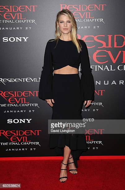 Actress Ali Larter attends the premiere of Sony Pictures Releasing's 'Resident Evil The Final Chapter' at Regal LA Live A Barco Innovation Center on...