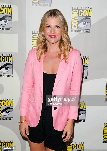 Actress Ali Larter attends TNT's 'Legends' panel during ComicCon International San Diego 2014 at San Diego Convention Center on July 24 2014 in San...