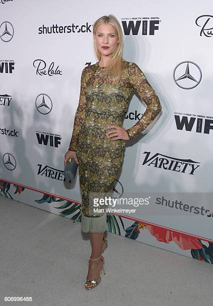 Actress Ali Larter attends Variety and Women in Film's PreEmmy Celebration at Gracias Madre on September 16 2016 in West Hollywood California