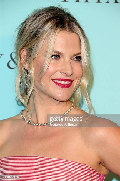 Actress Ali Larter celebrates the unveiling of the renovated Tiffinay Co Beverly Hills store at Tiffany Co on October 13 2016 in Beverly Hills...