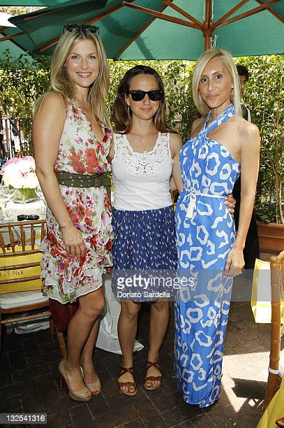 Actress Ali Larter, Jennifer Meyer Maguire and Alexandra Von Furstenberg attend Jo De Mer Lunch Hosted By Alexandra von Furstenberg at Il Cielo on...
