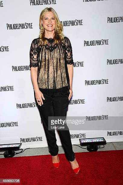 Actress Ali Larter poses on the red carpet during Philadelphia Style Magazine Cover Event at Radisson Blu Warwick Hotel on September 18 2014 in...