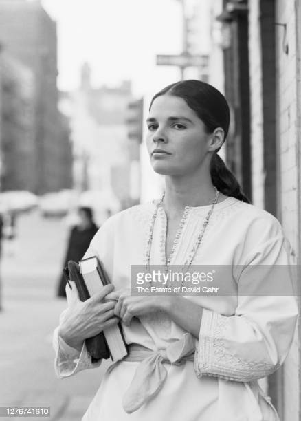 Actress Ali MacGraw poses for a portrait on March 27, 1969 in New York City, New York. Ali McGraw was one of the top female box office stars in the...