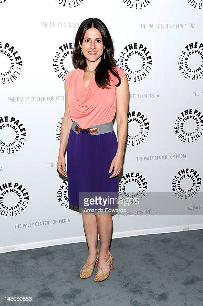 Actress Ali Marsh arrives at The Paley Center For Media Celebrates Final Season Of USA Network's In Plain Sight at The Paley Center for Media on...