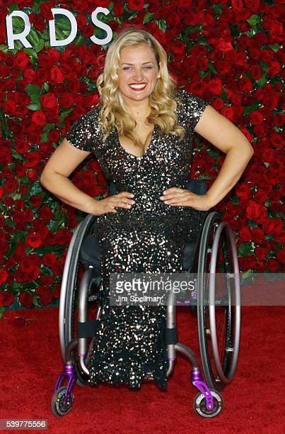 Actress Ali Stroker attends the 70th Annual Tony Awards at Beacon Theatre on June 12 2016 in New York City