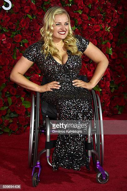 Actress Ali Stroker attends the 70th Annual Tony Awards at The Beacon Theatre on June 12 2016 in New York City