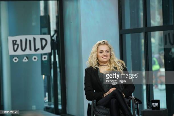 Actress Ali Stroker attends the Build series at Build Studio on February 2 2017 in New York City
