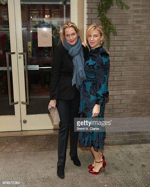 Actress Ali Wentworth and author Jessica Seinfeld attend the 2016 Hearst 100 held at Michael's Restaurant on December 12 2016 in New York City