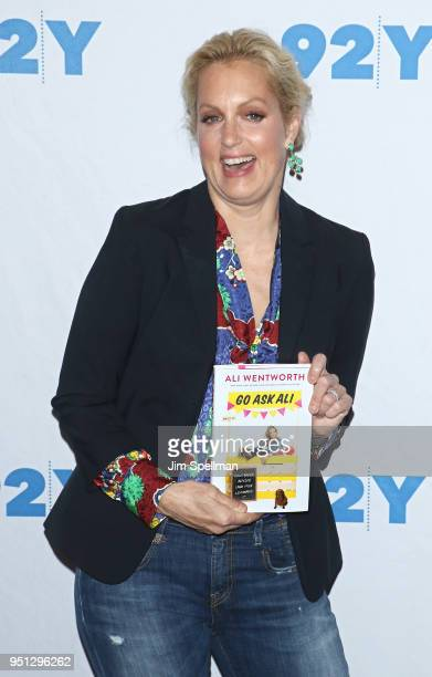 Actress Ali Wentworth attends a conversation at 92nd Street Y on April 25 2018 in New York City