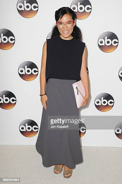 Actress Ali Wong arrives at Disney ABC Television Group Hosts TCA Summer Press Tour at the Beverly Hilton Hotel on August 4 2016 in Beverly Hills...