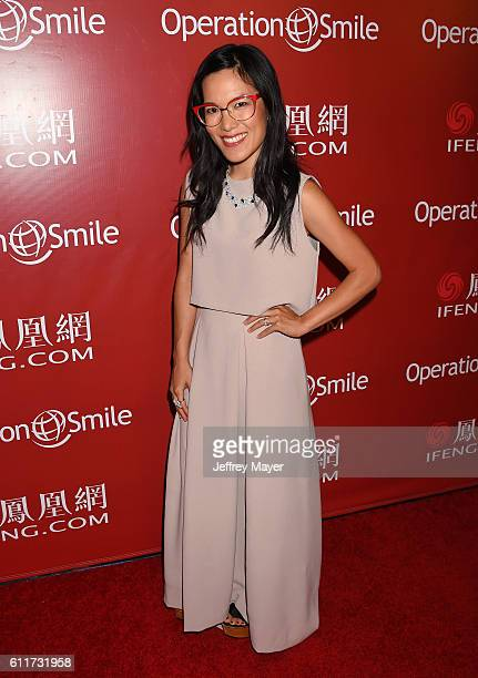 Actress Ali Wong arrives at Operation Smile's Annual Smile Gala at the Beverly Wilshire Four Seasons Hotel on September 30 2016 in Beverly Hills...