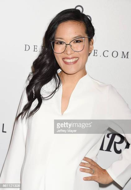 Actress Ali Wong arrives at the Variety's Power Of Women Los Angeles at the Beverly Wilshire Four Seasons Hotel on October 13 2017 in Beverly Hills...
