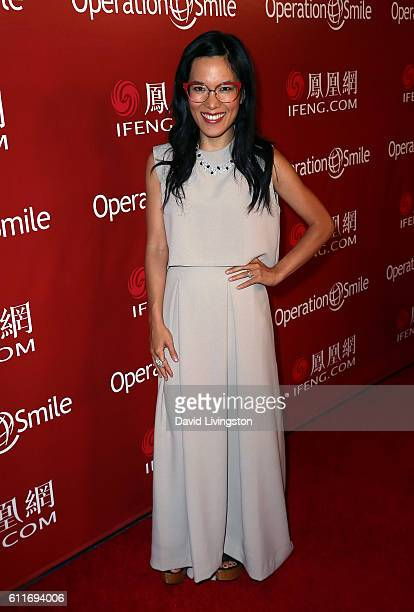 Actress Ali Wong attends Operation Smile's Annual Smile Gala at the Beverly Wilshire Four Seasons Hotel on September 30 2016 in Beverly Hills...