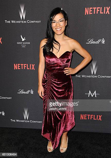 Actress Ali Wong attends the 2017 Weinstein Company and Netflix Golden Globes after party on January 8 2017 in Los Angeles California