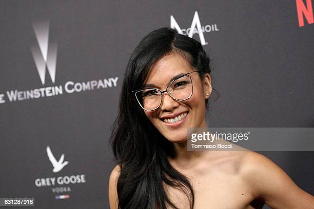 Actress Ali Wong attends The Weinstein Company and Netflix Golden Globe Party presented with FIJI Water Grey Goose Vodka Lindt Chocolate and...
