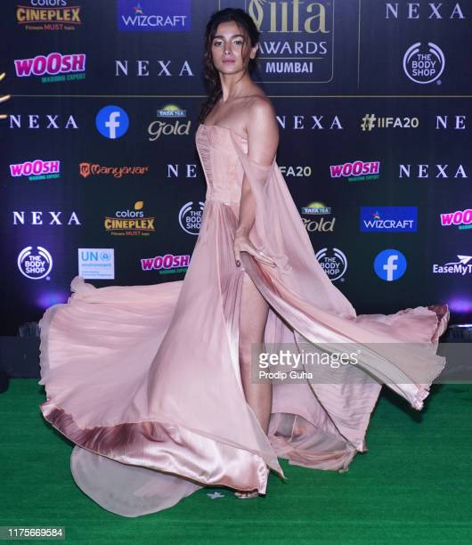 Actress Alia Bhatt attend the 20th IIFA award on September 18 2019 in Mumbai India