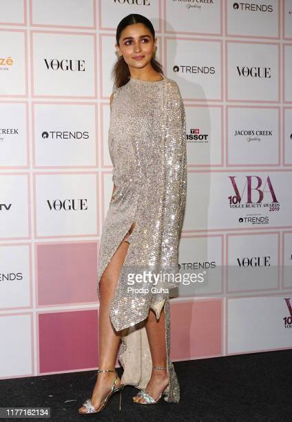 Actress Alia Bhatt attends the Vogue Beauty Awards 2019 on September 25 2019 in Mumbai India