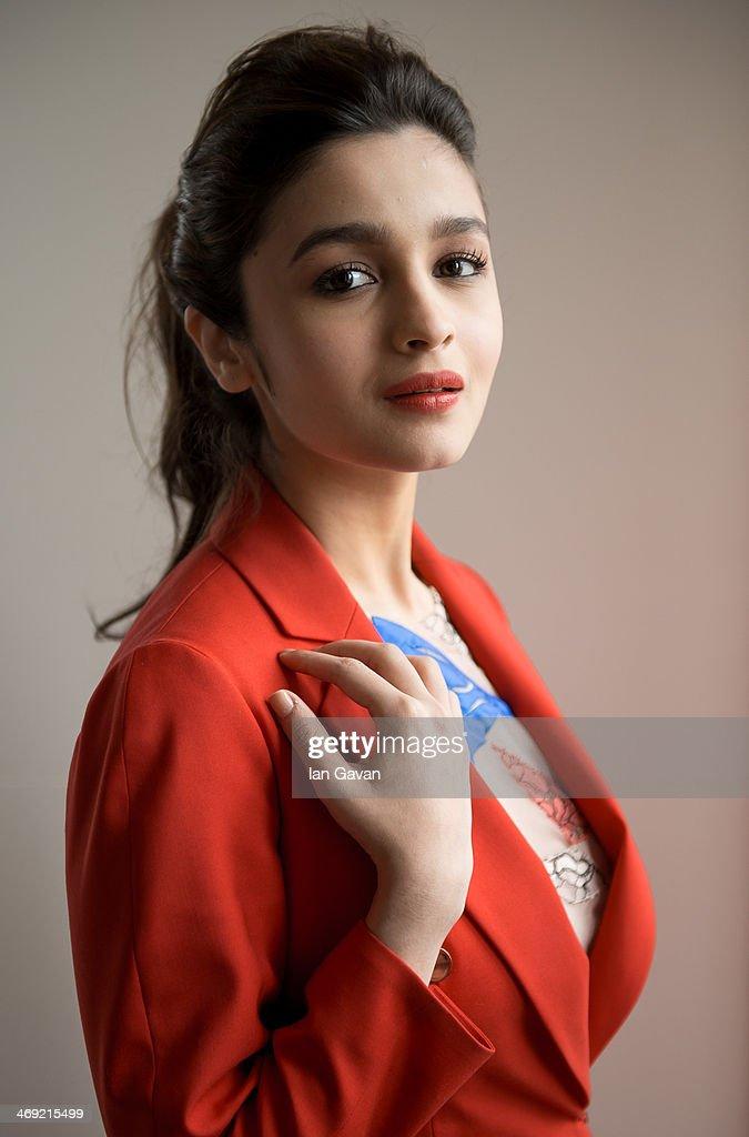 Alia Bhatt Portrait Session : News Photo