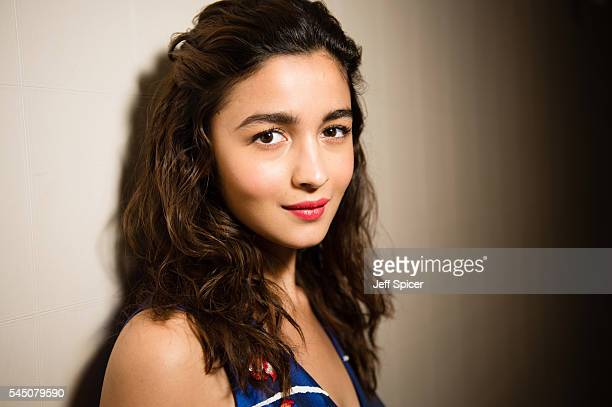 Actress Alia Bhatt poses for a portrait at the Courthouse London on July 5 2016 in London England