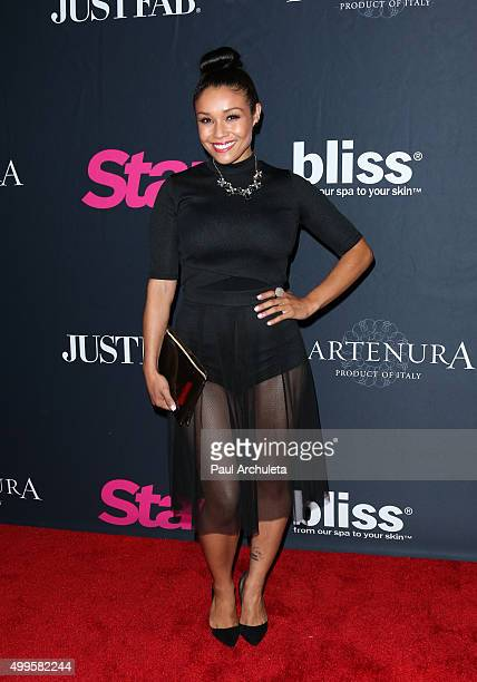 Actress Alia Kruz attends Star Magazine's Scene Stealers party at The W Hollywood on October 22 2015 in Hollywood California