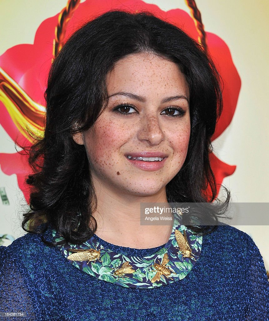 Actress Alia Shawkat arrives to the LA screening of Magnolia Pictures' 'The Brass Teapot' at ArcLight Hollywood on March 21, 2013 in Hollywood, California.
