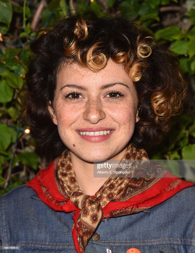 Actress Alia Shawkat attends a screening of 'Wild Canaries' at Cinefamily on March 3, 2015 in Los Angeles, California.