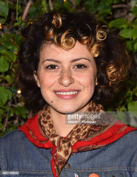 Actress Alia Shawkat attends a screening of Wild Canaries at Cinefamily on March 3 2015 in Los Angeles California