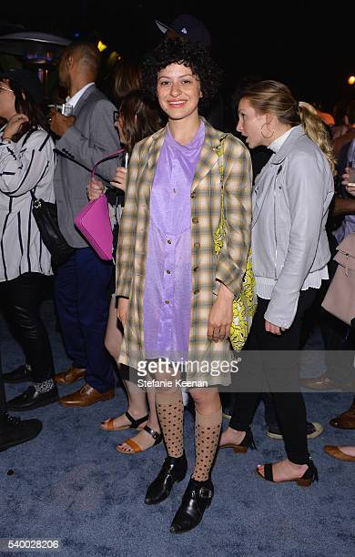 Actress Alia Shawkat attends TakeTwo's Annual E3 Kickoff Party at Cecconi's Restaurant on June 13 2016 in Los Angeles California