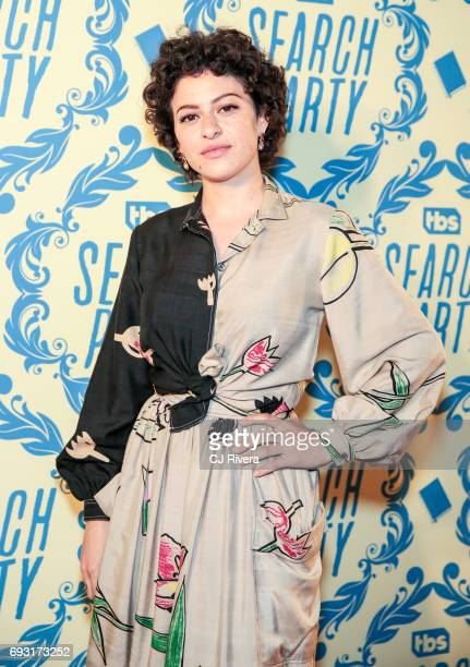 Actress Alia Shawkat attends TBS's 'Search Party' For Your Consideration Event at The McKittrick Hotel on June 6 2017 in New York City