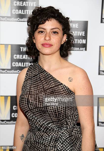 Actress Alia Shawkat attends The Creative Coalition's Inaugural Ball for the Arts at the Harman Center for the Arts on January 20 2017 in Washington...
