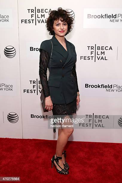 Actress Alia Shawkat attends the premiere of 'The Driftless Area' during the 2015 Tribeca Film Festival at BMCC Tribeca PAC on April 18 2015 in New...