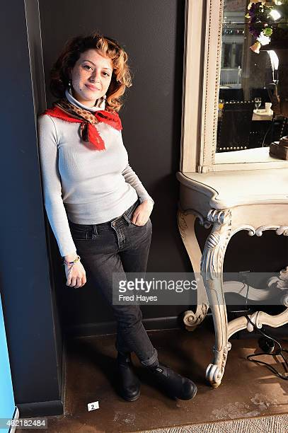 Actress Alia Shawkat attends the SAG Indie Actors Only Brunch during the 2015 Sundance Film Festival at Cafe Terigo on January 25 2015 in Park City...