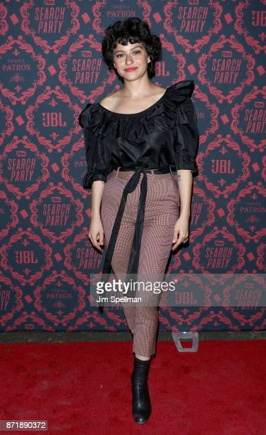 Actress Alia Shawkat attends the season 2 premiere of Search Party hosted by TBS at Public Arts at Public on November 8 2017 in New York City