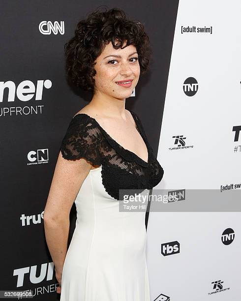 Actress Alia Shawkat attends the Turner Upfront 2016 arrivals at The Theater at Madison Square Garden on May 18 2016 in New York City