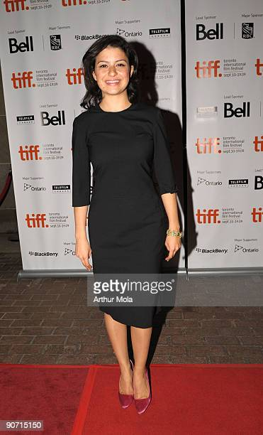 Actress Alia Shawkat attends the'Whip It' Premiere at the Ryerson Theatre during the 2009 Toronto International Film Festival on September 13 2009 in...