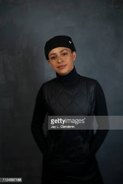 Actress Alia Shawkat from 'Animals' is photographed for Los Angeles Times on January 28 2019 at the 2019 Sundance Film Festival in Salt Lake City...