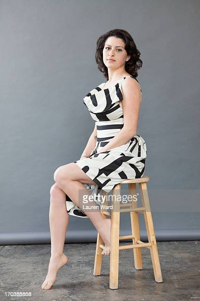Actress Alia Shawkat is photographed for Nylon Magazine on February 5 2013 in Los Angeles California