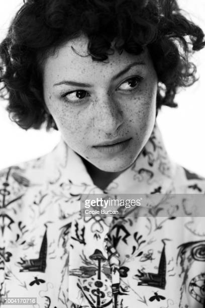 Actress Alia Shawkat is photographed for Self Assignment on May 2015 in Cannes France
