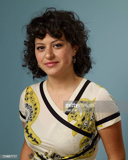 Actress Alia Shawkat of The Oranges poses during the 2011 Toronto Film Festival at Guess Portrait Studio on September 11 2011 in Toronto Canada