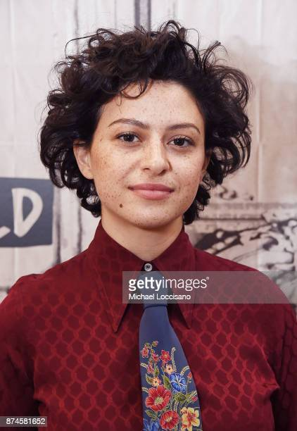 Actress Alia Shawkat visits Build Studio to discuss the show Search Party on November 14 2017 in New York City