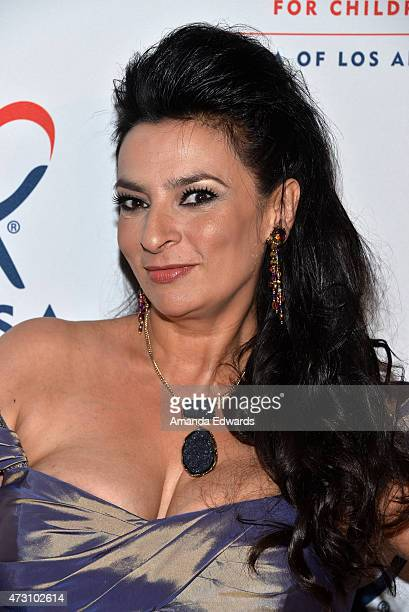 Actress Alice Amter arrives at the CASA of Los Angeles' 3rd Annual Evening to Foster Dreams Gala at The Beverly Hilton Hotel on May 12 2015 in...