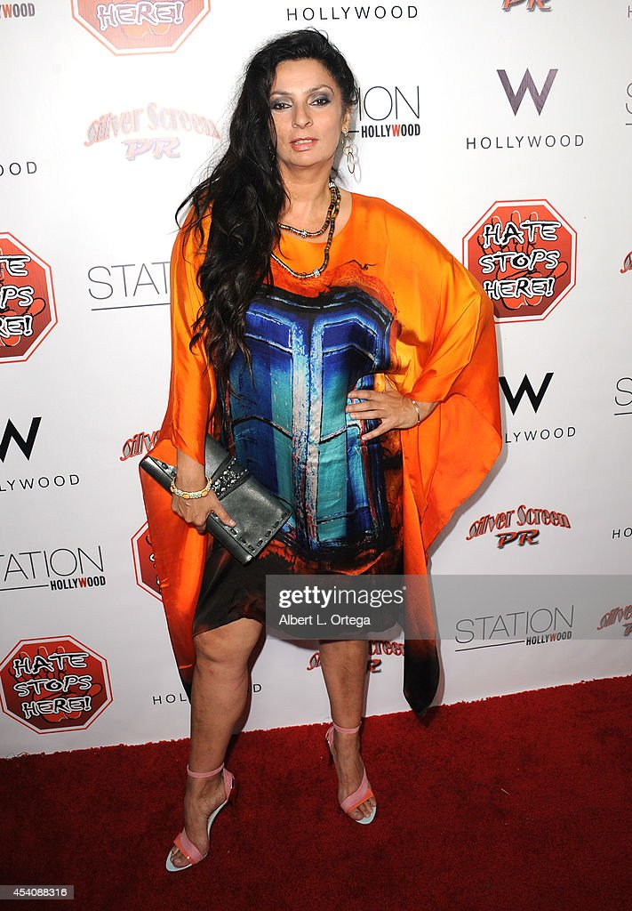Actress Alice Amter arrives at W Hotel Station Club's Annual Emmy Party held at W Hollywood on August 23, 2014 in Hollywood, California.