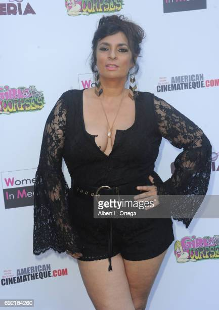 Actress Alice Amter arrives for Etheria Film Night held at The Egyptian Theatre on June 3 2017 in Los Angeles California