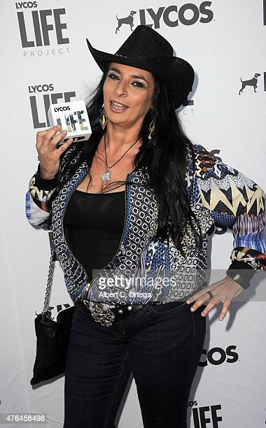 Actress Alice Amter arrives for LYCOS Life and the LYCOS Life Project Launch Party with a Kansas Style BBQ and performance by Band From TV on June 8...