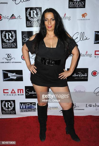 Actress Alice Amter arrives for the 4th Annual Roman Media PreOscars Hollywood Event Championing Women And Diversity In Film held at Paloma on...