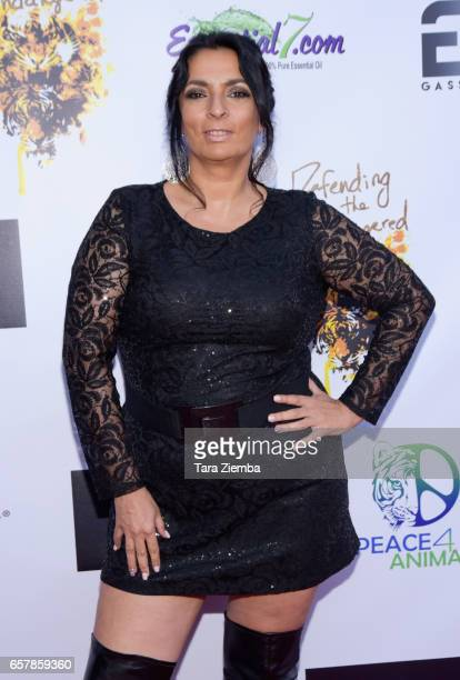 Actress Alice Amter arrives to the 'For The Love Of Animals Gala' on March 25 2017 in Burbank California