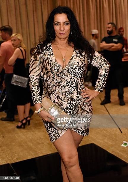 Actress Alice Amter attends Art Hearts Fashion Los Angeles Fashion Week on October 9 2016 in Los Angeles California